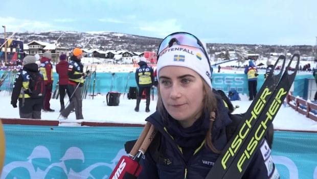 Ebba Andersson: Önskar att jag varit piggare