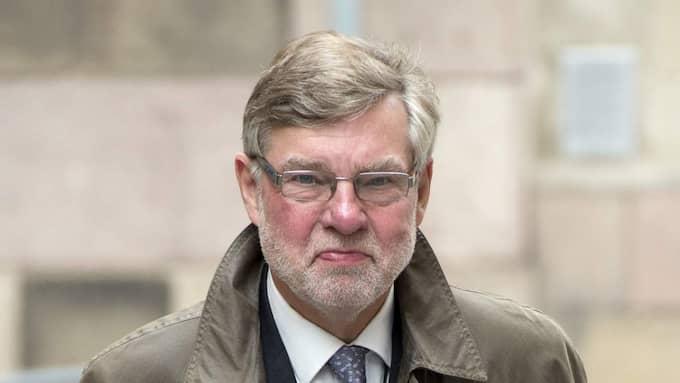 Björn von Sydow var regeringens sändebud. Foto: Sven Lindwall