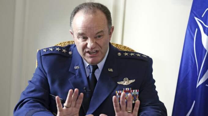 Natos högste militära befälhavare Philip Breedlove. Foto: Remy De La Mauviniere