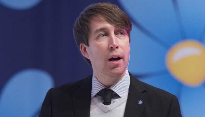 """Om Björn Söder slutar är Richard Jomshof (bilden) en kandidat. """"Det är honom man har diskuterat. Han är den kandidat som det har diskuterats kring, ja"""", säger Henrik Vinge. Foto: Sven Lindwall"""