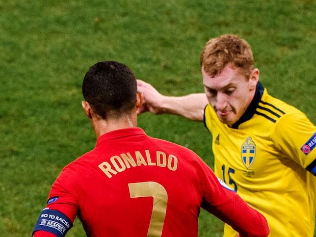 """Kulusevski hyllas av Ronaldo: """"Det är som bensin"""""""