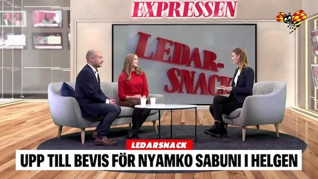 LEDARSNACK: Upp till bevis för Nyamko Sabuni i helgen