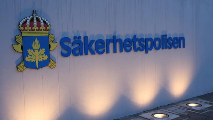 Polisen har blivit kontaktad av Säkerhetspolisen i fallet med Jimmie Åkesson. Foto: PRESSBILD