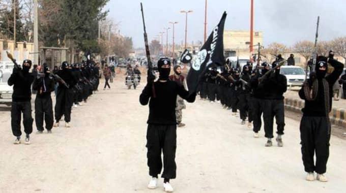 Sju till åtta män tillhörande terroristorganisationen IS ska befinna sig i Sverige, enligt uppgifter till Expressen. Foto: AP