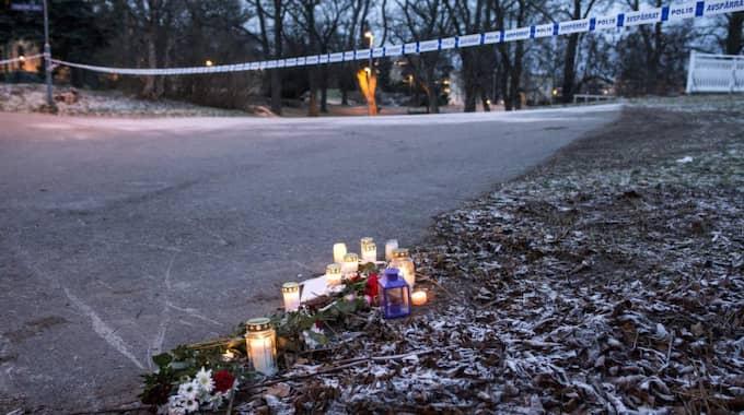 Den 24-årige mannen begärs häktad för mordet på sin flickvän. Foto: Johan Nilsson / Tt