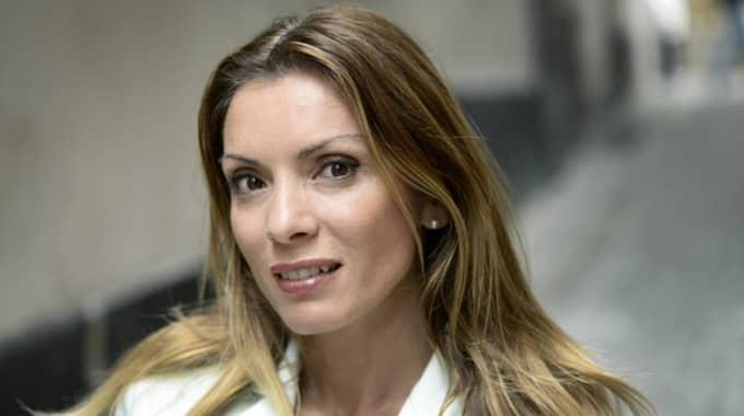 Alexandra Pascalidou, programledare och författare. Foto: Anders Wiklund/Tt / TT NYHETSBYRÅN
