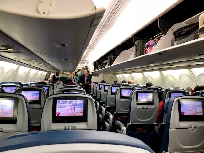 Delta Airlines menar att det blir färre störningar ombord.