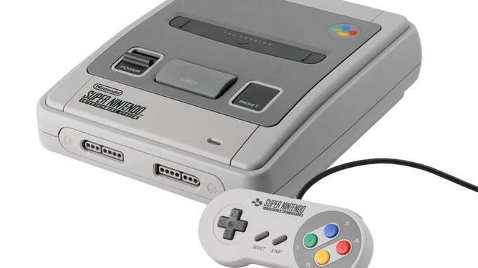 Super Nintendo lanserades i Sverige 1992.