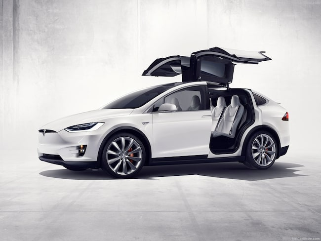 Tesla Model X får maxpoäng i nya krocktestet från NHTSA.