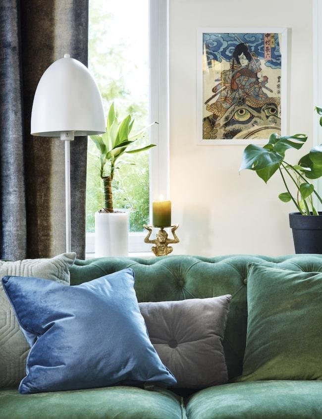 Mixa trä, mässing& grönblå toner! Handla direkt i LEVA&BO:s ...