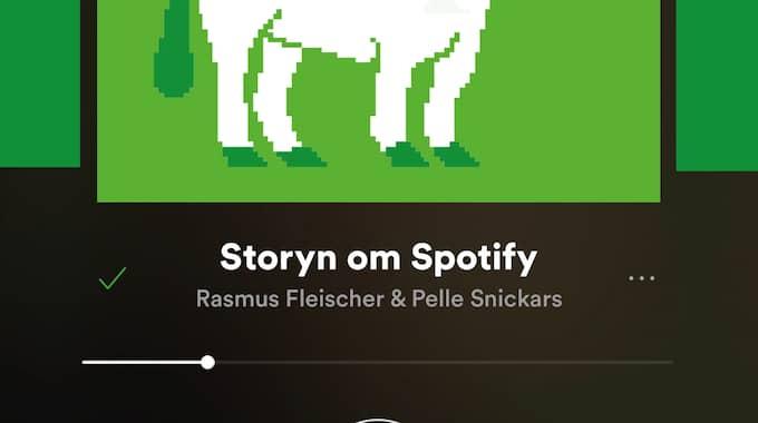 """""""Den svenska enhörningen. Storyn om Spotify""""."""