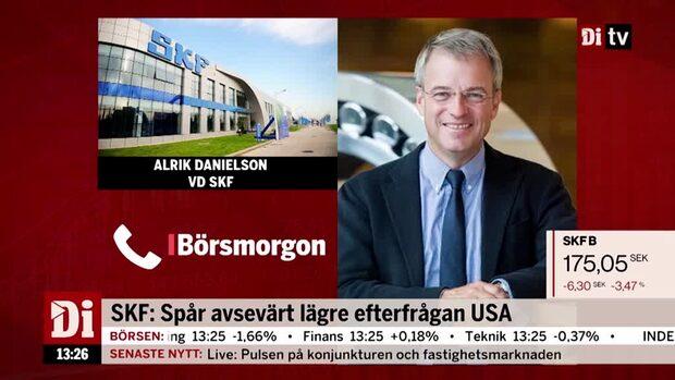 Alrik Danielsson, vd SKF, kommenterar kvartalet