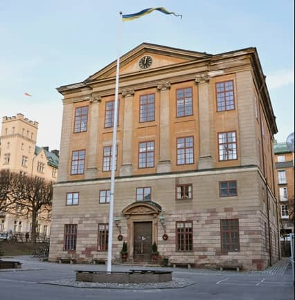 Skolan har bland de högsta betygssnitten i Sverige, tusentals barn står i kö för att få börja där. Foto: Fredrikshovs slotts skola