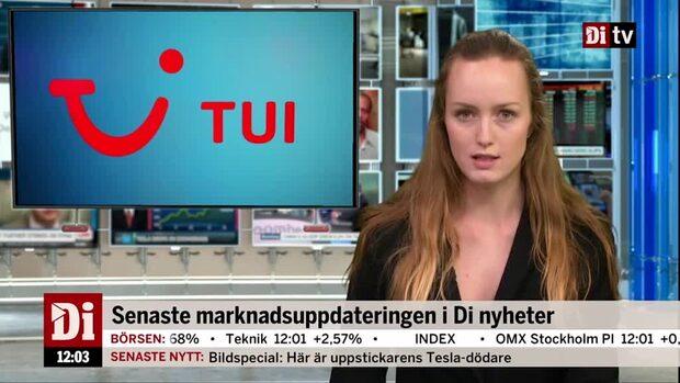 Di Nyheter: Charterjätten TUI rusar på börsen