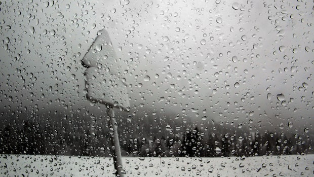 Mildare väder att vänta i veckan – regn och snöblandatregn