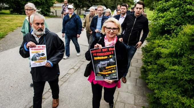 KORRUPTIONENS PRIS? Bland annat stadsdelen Kroksbäck har drabbats av granatattackerna i Malmö under sommaren. Foto: Christian Örnberg