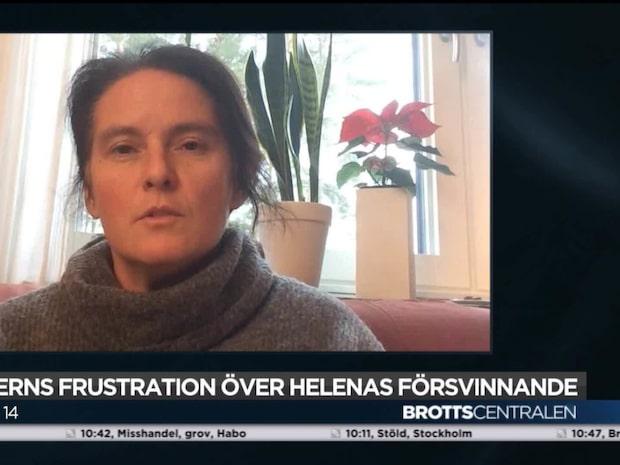 Helena Andersson – en av allt fler som försvinner