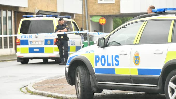 Skottlossningen inträffade vid Persborgstorget i Malmö. Foto: Mikael Nilsson