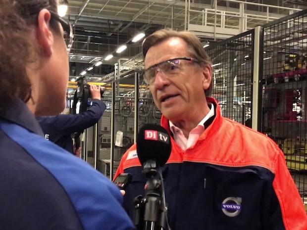 """Volvos vd: """"Vi måste komma tillbaka till normalitet"""""""