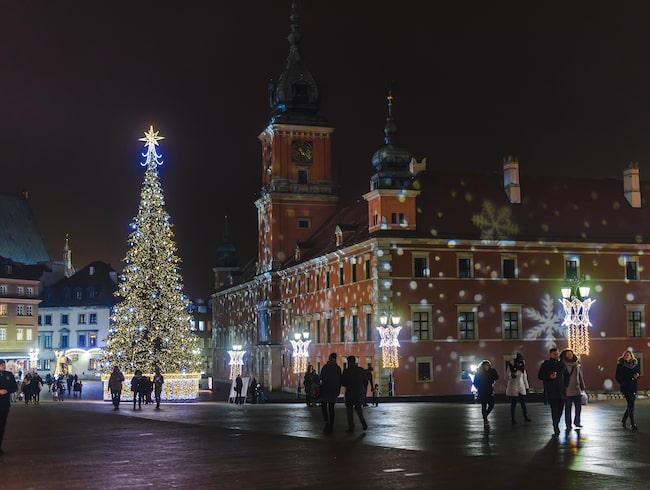 Warszawa är extra mysigt på vintern.