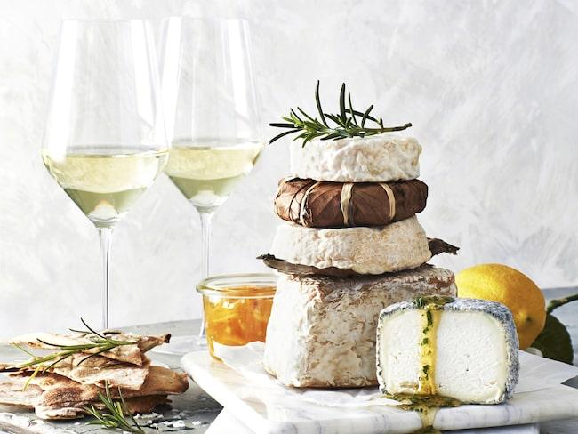 Vin och ost är ofta en match in heaven. Alla har sina olika favoriter.