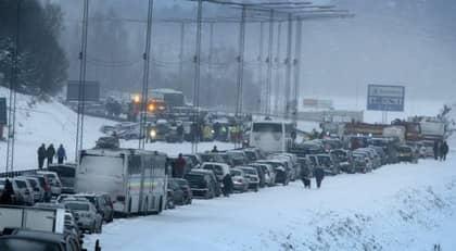 SNÖKAOSOCH KYLA . Med stor sannolikhet går vi mot kallare tider, hävdar klimatforskaren Wibjörn Karlén. Foto: Roger Schederin
