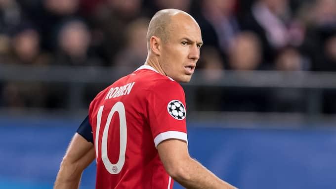 """Arjen Robben erkänner att flytten till Bayern München inte kändes rätt från början: """"Det var ett svårt beslut. Real var störst i världen."""" Foto: VI IMAGES"""