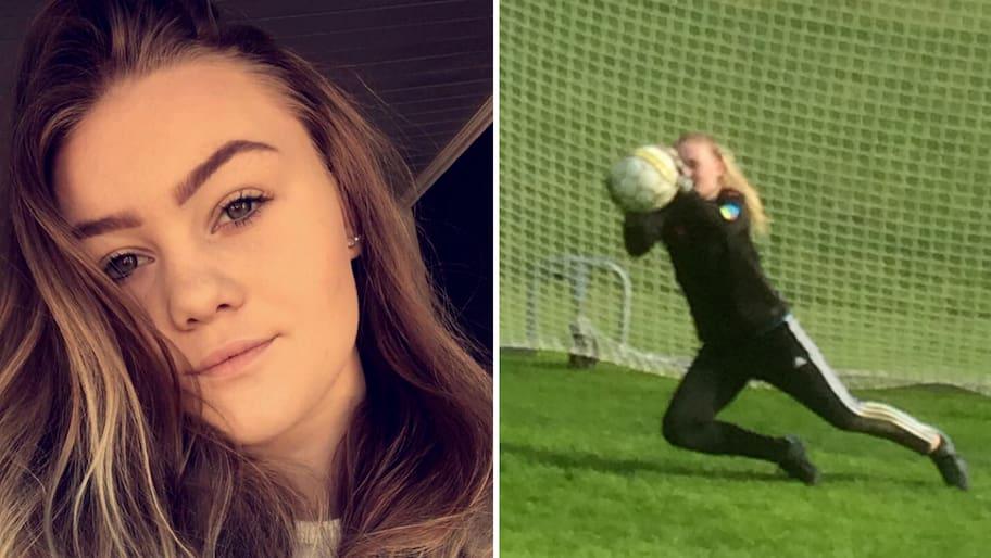 För Ida Pederson i Töcksfors betyder fotbollen verkligen allt. Hon
