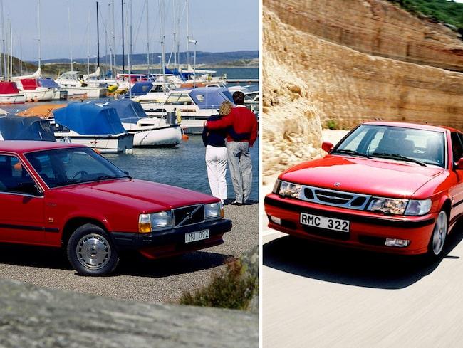 Saab 9-3 och två Volvo-modeller ligger på topp 10. Toppar listan gör Renault Megané Scenic.