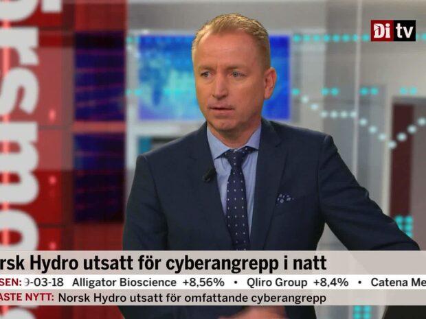 Norsk Hydro utsatt för cyberangrepp
