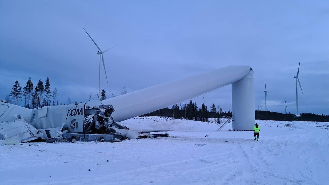 230 meter högt kraftverk kollapsade – mitt i natten