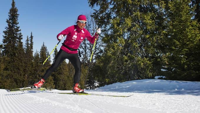 Kalla under ett träningspass i Saxnäs. Foto: NILS JAKOBSSON