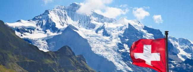 <span>På andra plats kommer Schweiz, fjolårets etta.</span>