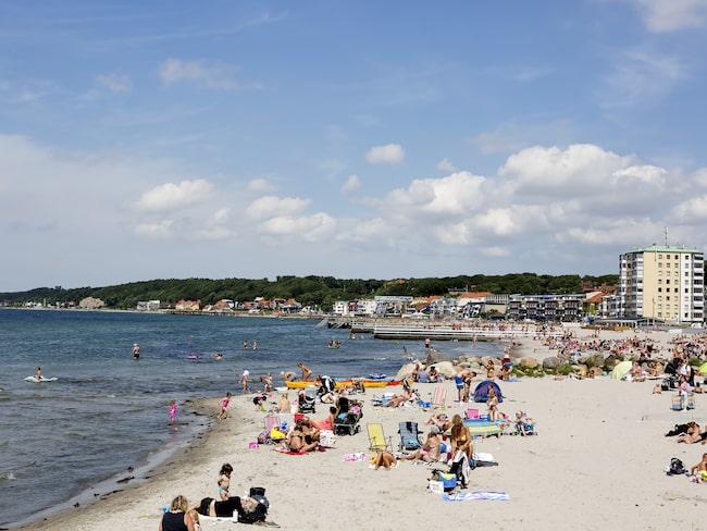 Fria bad i Helsingborg är en av fem EU-bad som fått klassificeringen dålig badvattenkvalitet.