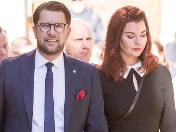 Jimmie Åkesson och Louise Erixon separerar