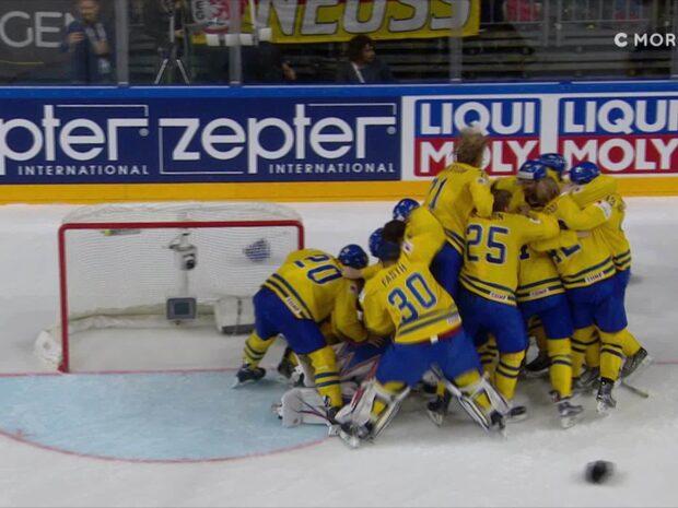 Här är straffdramat när Sverige blev världsmästare