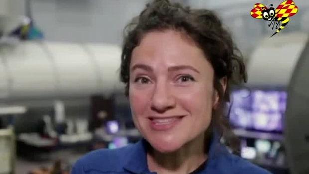 Svenska Jessica kan bli       första kvinnan på månen