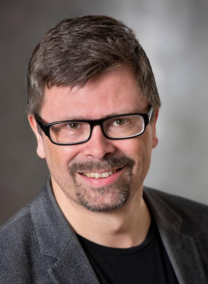 Svante Werger, kommunikationsdirektör på MSB. Foto: Thomas Henrikson