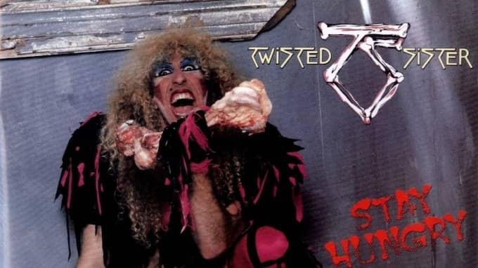 """Med tredje albumet """"Stay hungry"""" erövrade Twisted Sister världen."""