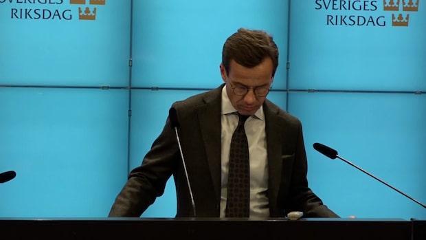 Ulf Kristersson: Ett svek mot väljarna