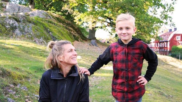 Träna med barnen: 3 roliga övningar