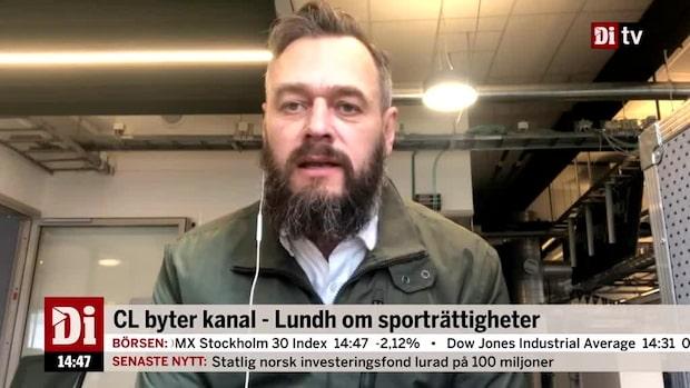 Telia förvärvar rättigheterna till Champions Leauge - Olof Lundh om affären