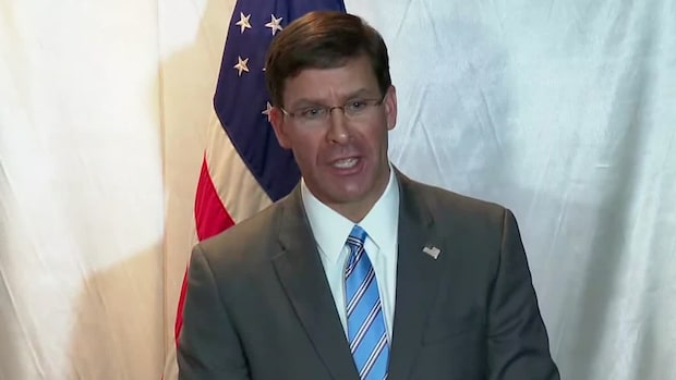 """USA:s försvarsminister: """"För att bevara fred"""""""