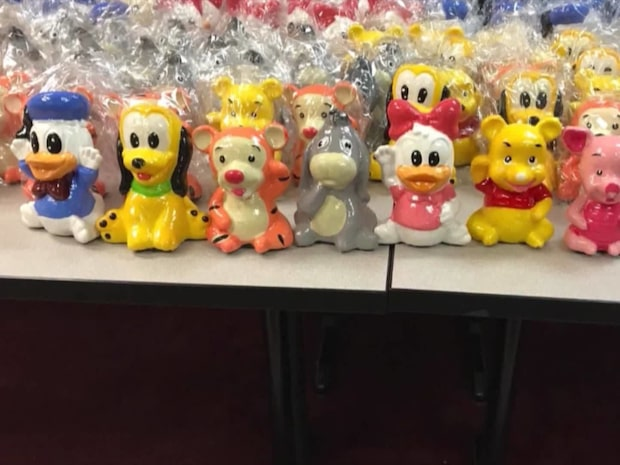 Disney-beslaget: Knarket låg gömt i 500 porslinsfigurer