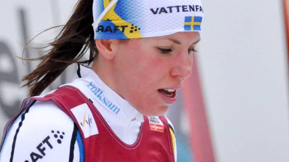 Charlotte Kalla. Foto: Henrik Isaksson/Ibl