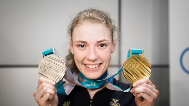 Hanna Öberg tilldelas Bragdguldet 2018