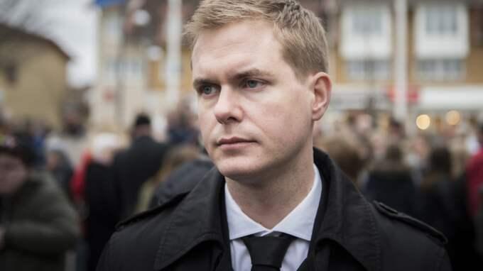 MP-språkröret Gustav Fridolin. Foto: Nora Lorek