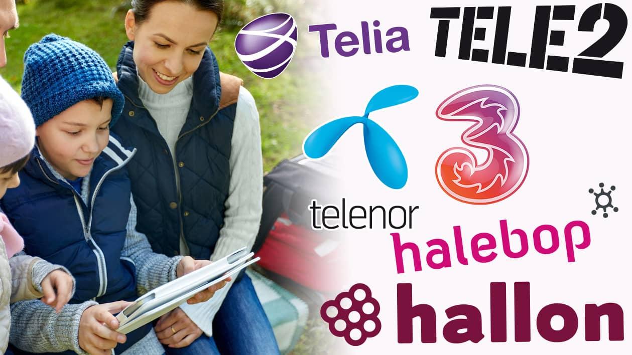 Telia och tele2 valjer ericsson