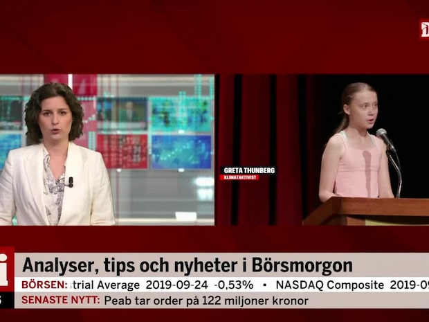Greta Thunberg tilldelas right livelihood-priset