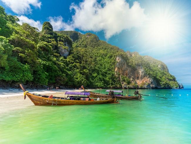 Många populära stränder omfattas av det nya rökförbudet i Thailand, som även kan ge fängelse.